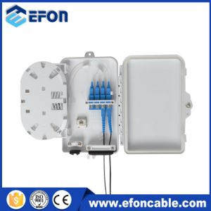 4 Core FTTH Mini Fiber Optic Terminal Box with PC/ABS Material pictures & photos