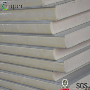Cheap Price Wall Roofing 30mm 50mm PU Sandwich Panel pictures & photos