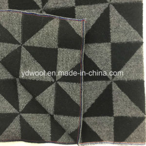 Triangular Check Wool Fabric in Ready pictures & photos