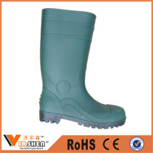 China Factory Price of Men Steel Toe Long Boots Safety pictures & photos