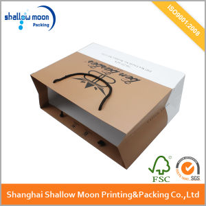 OEM Printing Matte Finishing Luxury Paper Bag Shopping Bags pictures & photos