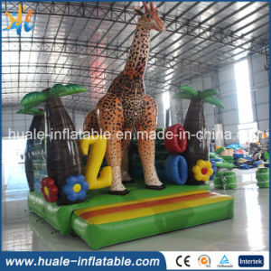 Animal Theme Deer Shape Jumping Castle Bouncy Castle Inflatable Bouncer for Sale