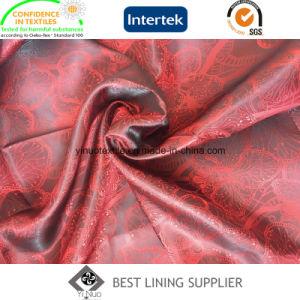 New Men′s Suit T/R Jacquard Lining Fabric Manufacturer pictures & photos