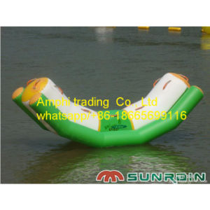 Single Tube Inflatable Water Seesaw with Ce Certificate