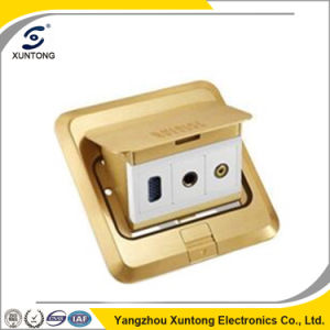 Multifunction Outlet Floor Socket Office Use Multiple Plug Socket pictures & photos