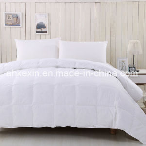 European Size Down-Like 350G/M Siliconized Fiber Comforter Set pictures & photos
