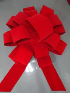 Red Velvet Gaint Outdoor Decoration Bow for Christmas pictures & photos