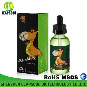 RoHS/TUV/MSDS 30ml Glass Bottle E-Liquid Fruit E Liquid