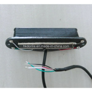 Low Noise 4 Wires Twin Blade Rail Single Guitar Pickup pictures & photos