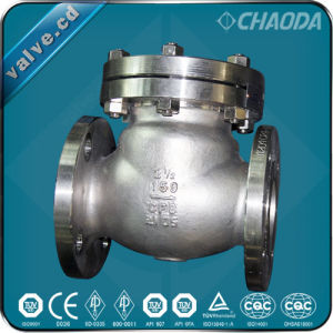 ANSI Pound-Grade Cast Steel Lift Check Valve pictures & photos