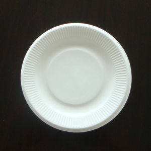 Biodegradable Sugarcane Bagasse Paper Plate pictures & photos