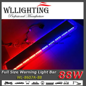 "47"" 88W Police LED Warning Light Bar Red/Blue pictures & photos"