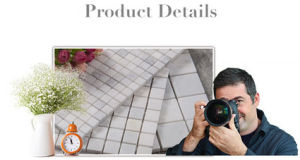 Marble Stone Mosaic Flooring Tile (FYST202) pictures & photos