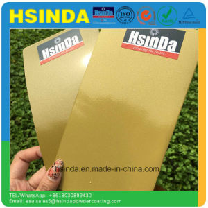 Fast Delivery Shiny Bonding Metallic Epoxy Polyester Paint Powder Coating pictures & photos