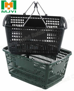 Hand Basket Metal Handle Shopping Basket pictures & photos