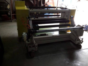 Simple Type Slitting Rewinding Machine for Non Woven Fabric Rolls (DC-SFQJ) pictures & photos