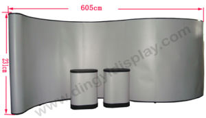 20FT S Shape PVC Panel Pop up Display (PU-09) pictures & photos