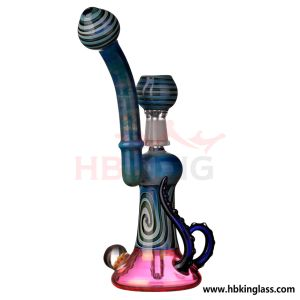 Wholesale Cheaper Colorful Tobacco Glass Smoking Water Pipe pictures & photos