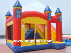 Outdoor Inflatable Bouncy Slide Combo, Jumping Bouncer