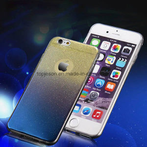 Wholesale Ultra Thin Soft Sparkle Gradual Cell Phone Case for iPhone 6//6s/6 Plus
