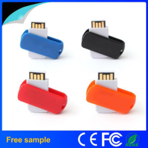 OEM Logo Printing Cheap Mini Swivel USB Flash Disk pictures & photos