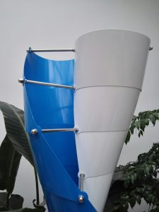 2017 Hot Sale 400W AC 12V Vertical Spiral Axis Wind Turbine (SHJ-NEV400S) pictures & photos