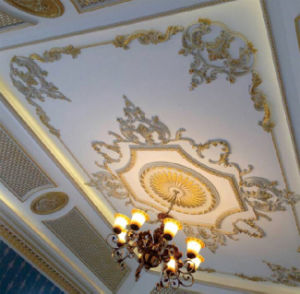 PU Ceiling Cornices PU Lighting Medallion PU Ceiling Medallion pictures & photos