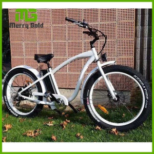 Good Looking 500/750/1000W Beach Cruiser Fat Tyre Electric Bike pictures & photos