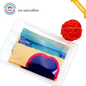 Ultra-Fine 100% Microfiber Printed Cloth pictures & photos