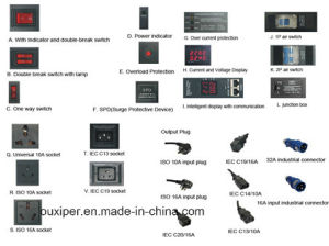 8 Way Universal Socket PDU pictures & photos