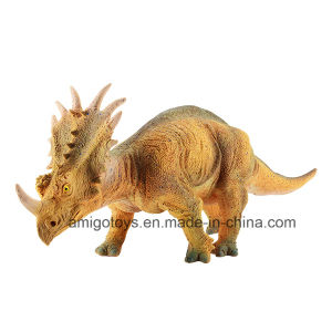 Hot Sell Plastic PVC Dino Toy with Yellow Skin pictures & photos