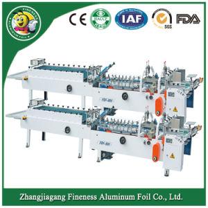High Speed Aluminum Foil Paper Gluing Machine pictures & photos