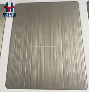 Gold Colored Stainless Steel Sheets for Project Decoration Matt Anti-Fingerprint pictures & photos