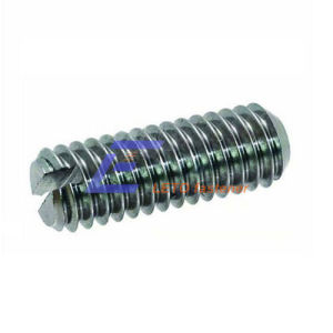 DIN438-Slotted Set Screws with Cup Point pictures & photos