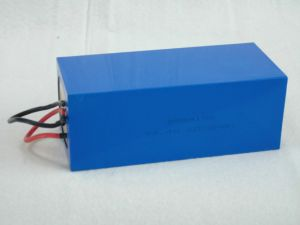 24V/60ah Ifr26650 LiFePO4 Battery Pack pictures & photos
