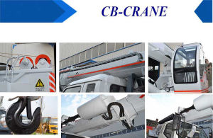 4-16ton Crane Mobile Screw Drilling Rig Truck in New Zealand pictures & photos