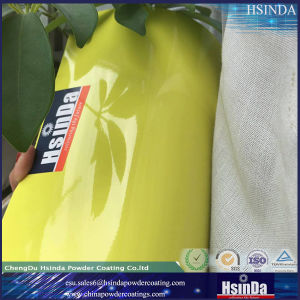High Gloss Yellow Powder Coating pictures & photos