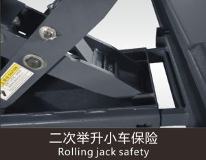 Four Post Hydraulic Parking Car Lift Hydraulic Car Lift Single Post Car Lift pictures & photos