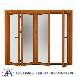 Aluminum Glass Sliding Folding Window pictures & photos