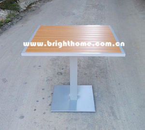 New Design Aluminium Dining Outdoor Table pictures & photos
