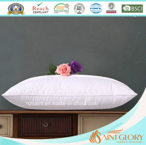Saint Glory Manufacturer Soft Goose Down Three Chamber Pillow pictures & photos