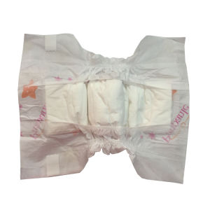 Baby Diaper with Clothlike Backsheet Printed Film Magic Tapes pictures & photos