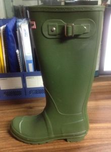 Orange Color fashion Waterproof PVC Boot with Buckle (SN5461) pictures & photos