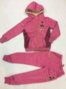 Fashion Children Sport Wear with Lace in Children Clothes Suits Sq-17121 pictures & photos