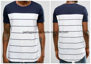 Youth Fashion Short-Sleeved Round Neck Men T-Shirt pictures & photos