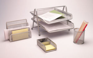 Office Accessories Set/ Metal Mesh Stationery Office Set/ Office Desk Accessories pictures & photos