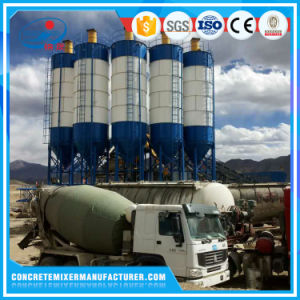Factory Price Piece Type Mobile 80 Ton Cement Silo for Concrete Batching Plant pictures & photos