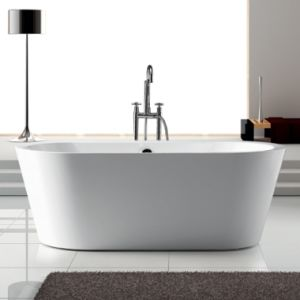 Cupc Cheap Acrylic Bathtub with Overflow pictures & photos