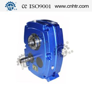 Hxgf Parallel Shaft Mount Gear Reducer with Backstop pictures & photos