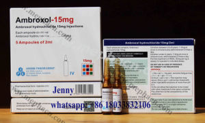 Ambroxol Hydrochloride Injection 15mg/2ml pictures & photos